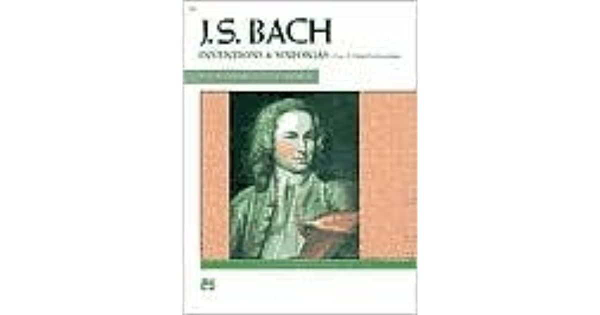 Two Inventions and Sinfonias Comb Bound Book and Three-Part Inventions Bach