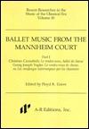 Ballet Music from the Mannheim Court