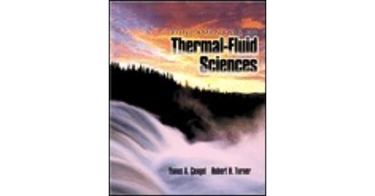 Fundamentals of thermal fluid sciences by yunus a cengel fandeluxe Images