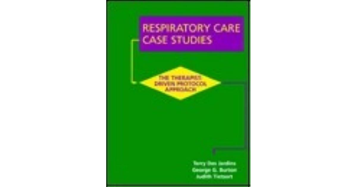 Respiratory Care Case Studies The Therapist Driven Protocol