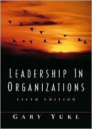 gary yukl leadership in organizations