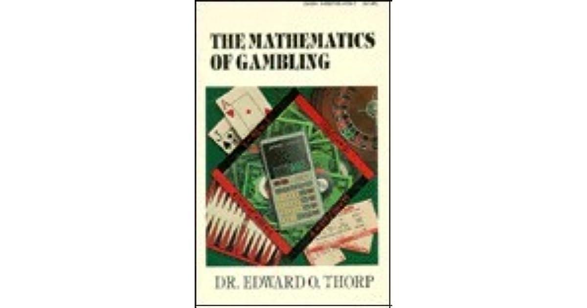 Mathematics of gambling thorp online gambling nba