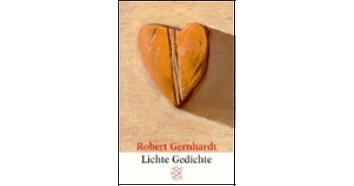 Lichte Gedichte By Robert Gernhardt