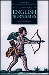 A Dictionary of English Surnames by P.H. Reaney