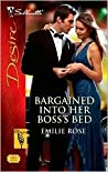 Bargained Into Her Boss's Bed  (The Hudsons of Beverly Hills, #4)