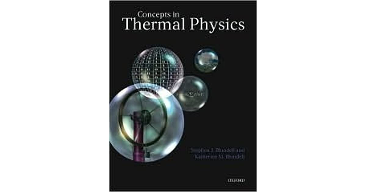 Concepts in thermal physics by stephen blundell fandeluxe Choice Image