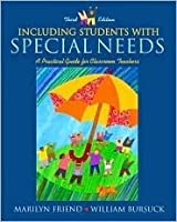 Including Students with Special Needs: A Practical Guide for Classroom Teachers, Mylabschool Edition