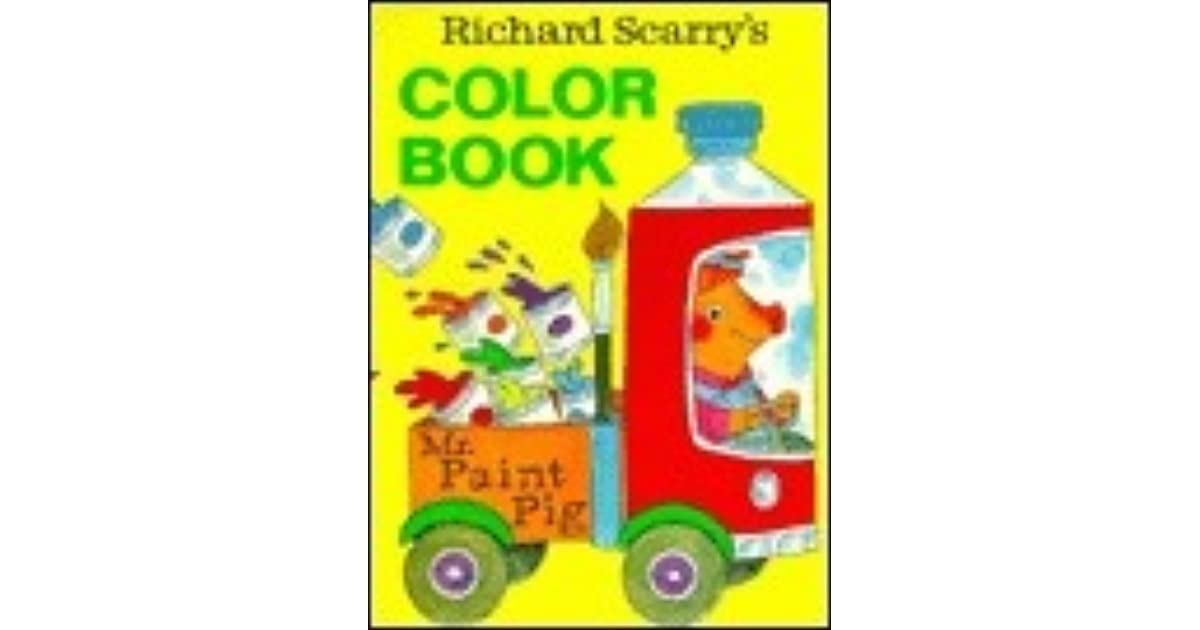 Richard Scarry\'s Color Book by Richard Scarry