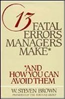Libro 13 Errores Fatales En Que Incurren Los Gerentes Pdf