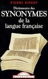 Dictionnaire des synonymes de la langue française