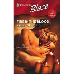 Fire In The Blood (Harlequin Blaze)