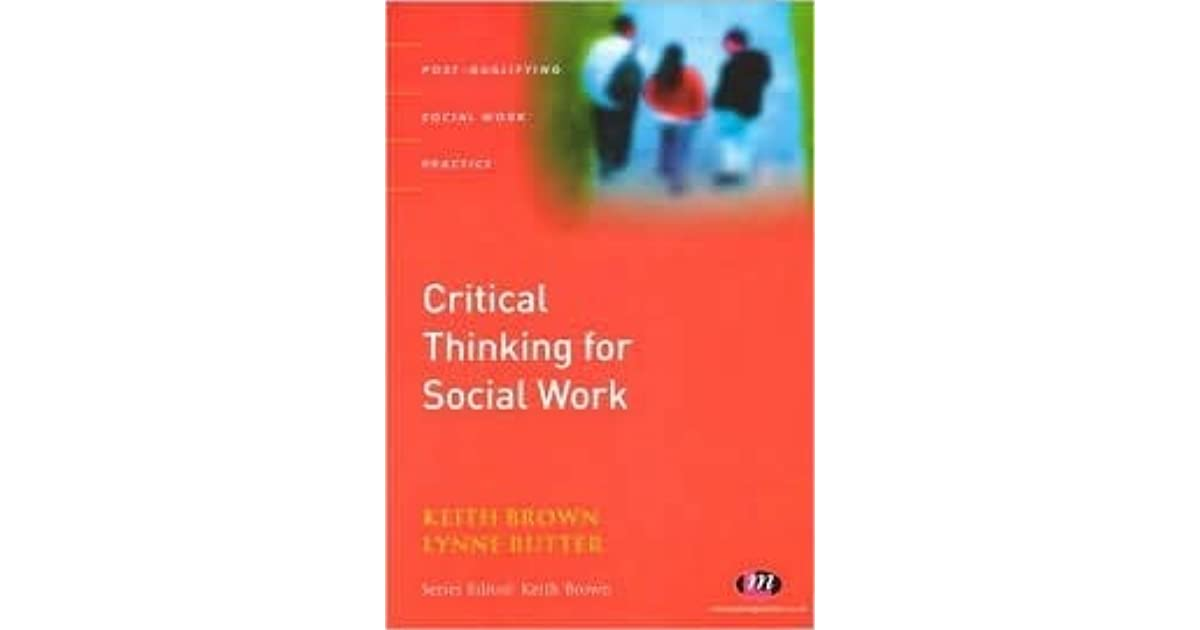 critical thinking in social work