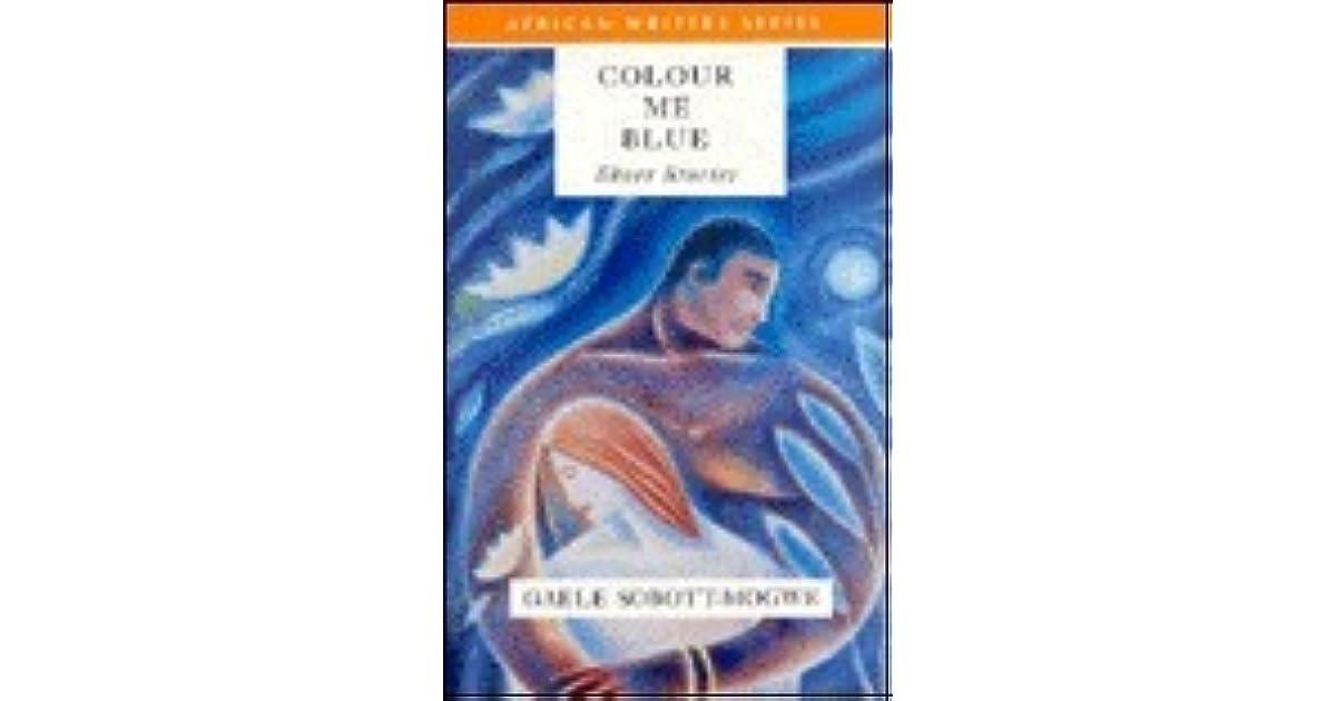 Colour Me Blue By Gaele Sobott Mogwe