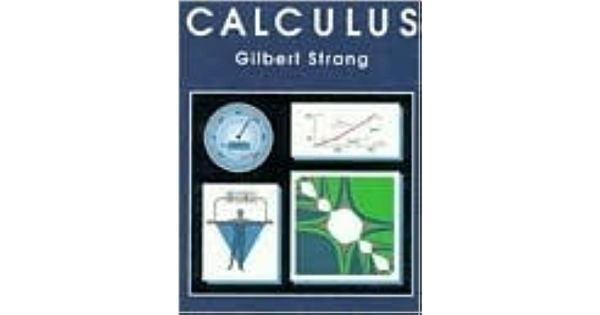 Calculus by Gilbert Strang