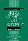 Dictionary of Algebra arithmetic and trigonometry