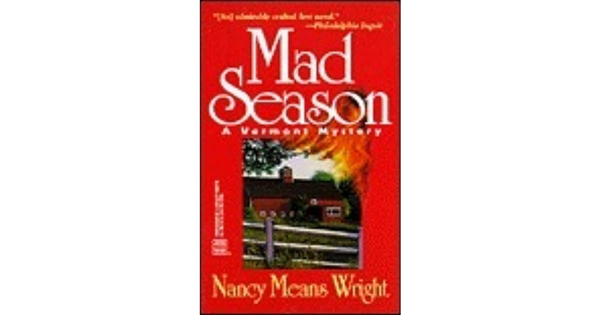 Mad Season (Ruth Willmarth, #1) by Nancy Means Wright