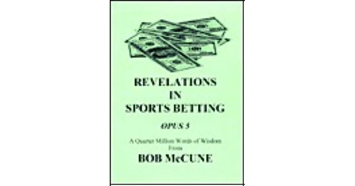 Bob mccune sports betting borgata sports betting app