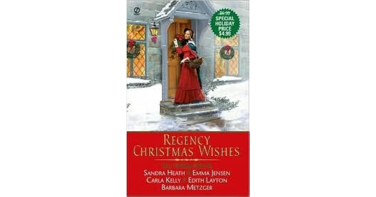 Regency Christmas Wishes By Sandra Heath