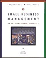 Small business management by justin g longenecker small business management an entrepreneurial emphasis fandeluxe Image collections