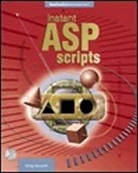 Instant ASP Scripts [With CDROM]