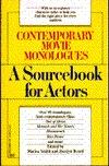 Contemporary Movie Monologues: A Sourcebook for Actors