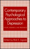 Contemporary Psychological Approaches to Depression  Theory, Research, and Treatment (1990, Springer US)