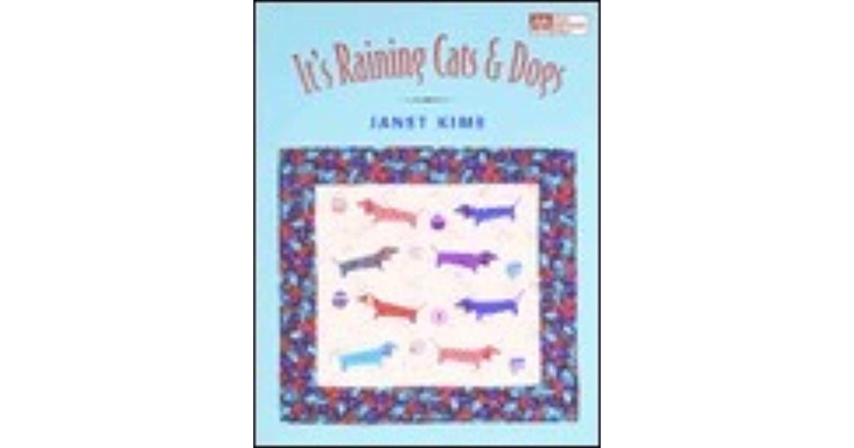 Its Raining Cats And Dogs Paper Pieced Quilts For Pet Lovers