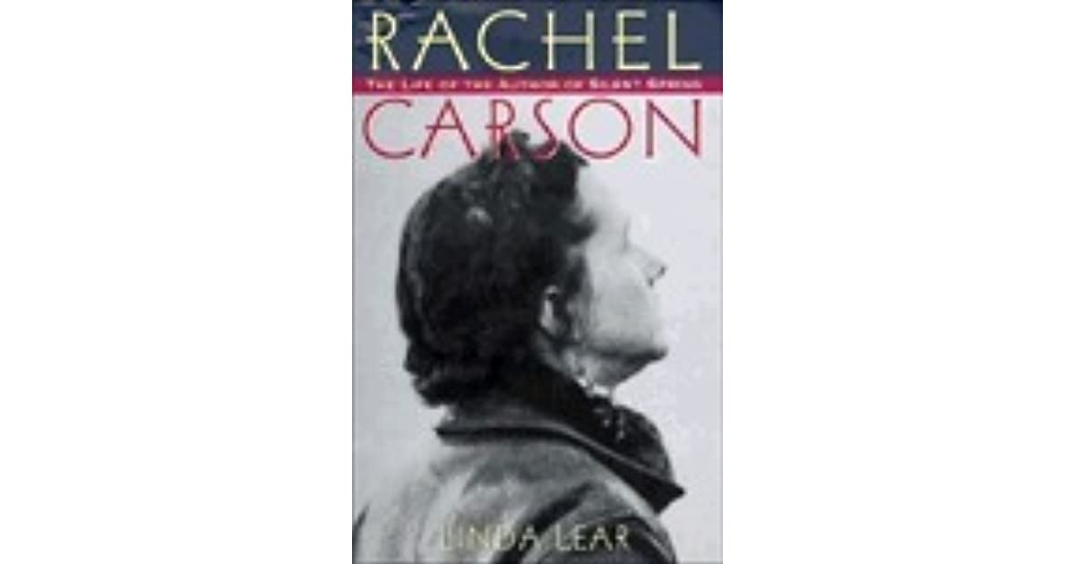 rachel carsons silent spring Rachel carson from silent spring (houghton miffin, 1962) a fable for tomorrow there was once a town in the heart of america where all life seemed to live in harmony with its surroundings.