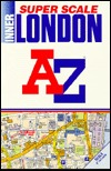 A-Z Super Scale Atlas of Inner London by Geographers' A-Z Map Company