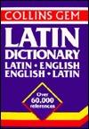 Collins Gem Latin Dictionary: Latin English English Latin