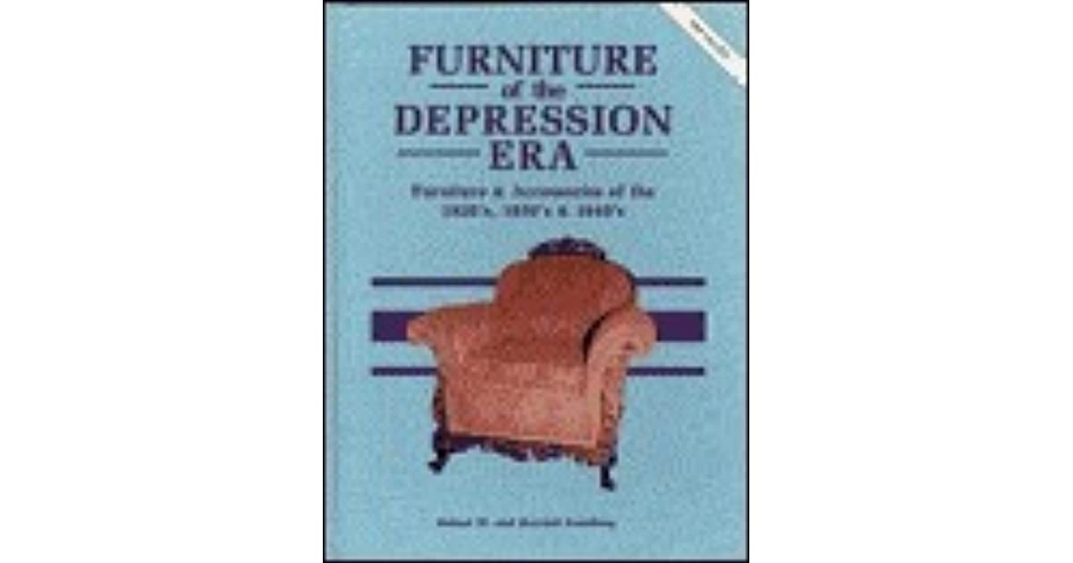 Furniture Of The Depression Era By Robert Swedberg