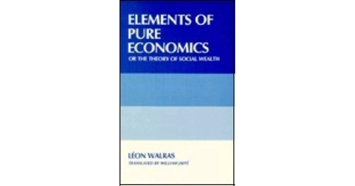 Leon Walras Elements Of Pure Economics Download