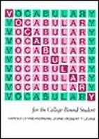 Vocabulary college bound students free download