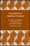 Foundations of Algebraic Analysis (Pms-37), Volume 37