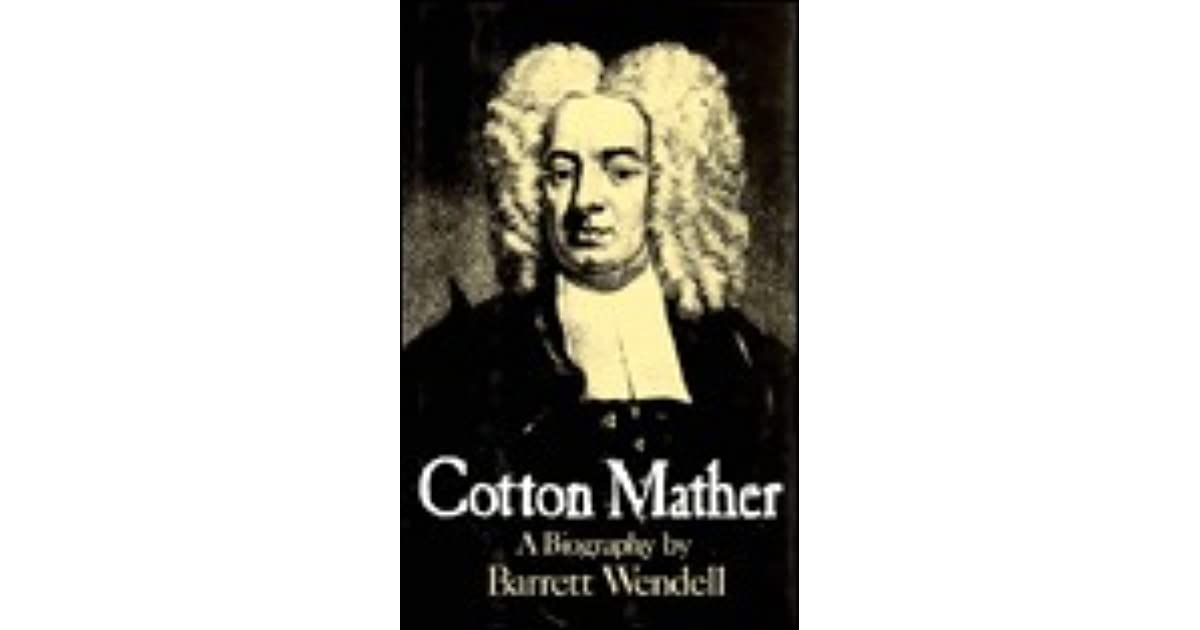 cotton mather importance of gender in To the endangered species of our world, let us add another: the vanishing american religious male while he's not near extinction, he's definitely pbs-sp.