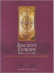 An Encyclopedia of ancient Europe