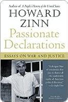 Passionate declaration essay on war justice