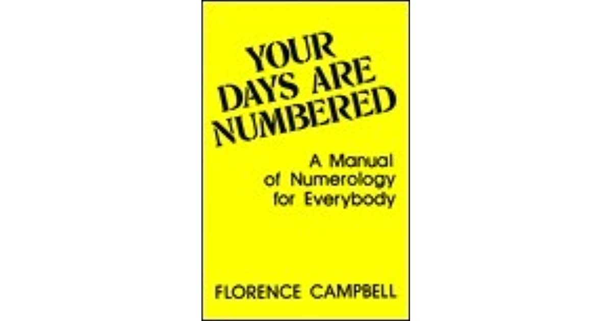 Your days are numbered florence campbell pdf