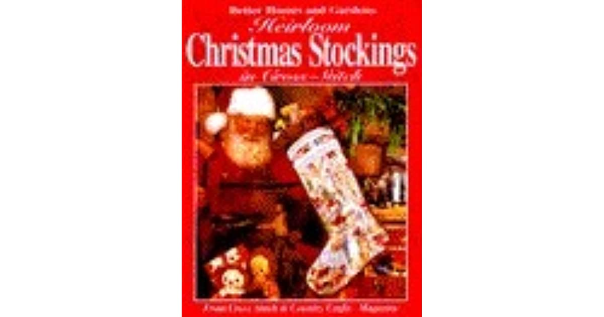 08456cac32e Heirloom Christmas Stockings in Cross-Stitch by Better Homes and Gardens