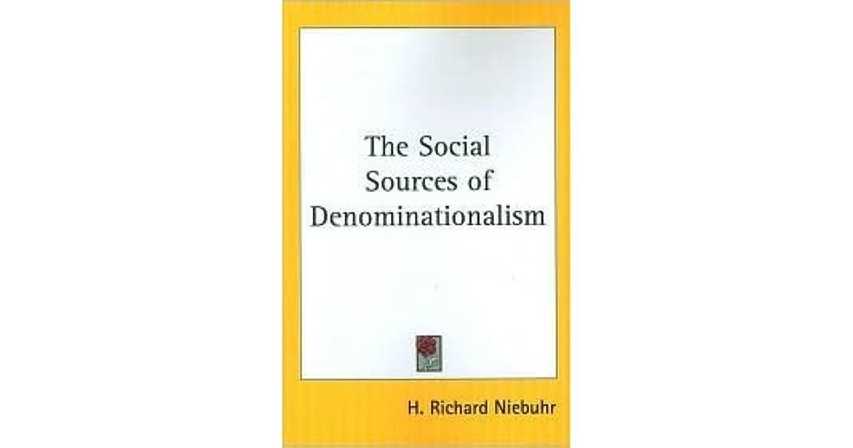 H Richard Niebuhr