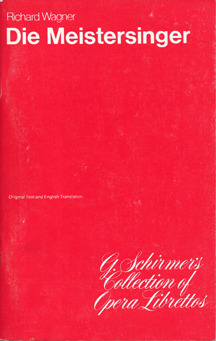 Die Meistersinger von Nürnberg by Richard Wagner