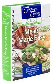 Meals Made Easy (Ground Beef Recipes, 4-Ingredient Recipes, Simple Suppers) (Company's Coming 3-in-1 Cookbook Collection Series)