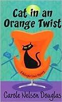 Cat in an Orange Twist