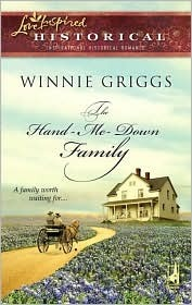 The Hand-Me-Down Family by Winnie Griggs