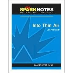 into thin air sparknotes literature guide by sparknotes