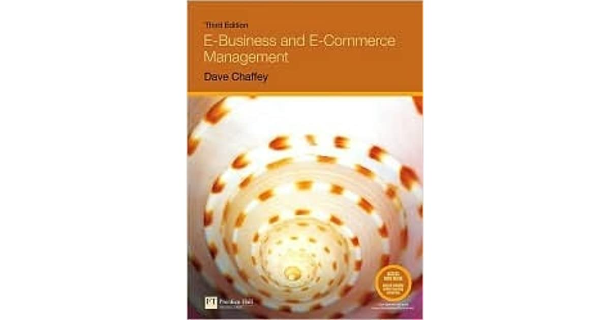 Ebusiness And Ecommerce Management Dave Chaffey 3rd Edition Download