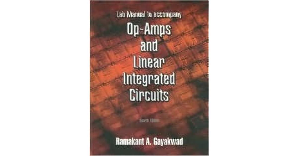 Opamps And Linear Integrated Circuits Ramakant A Gayakwad Pdf