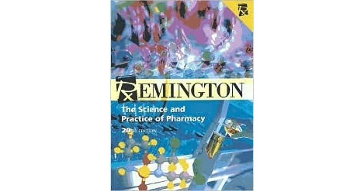 Remington S Pharmaceutical Sciences