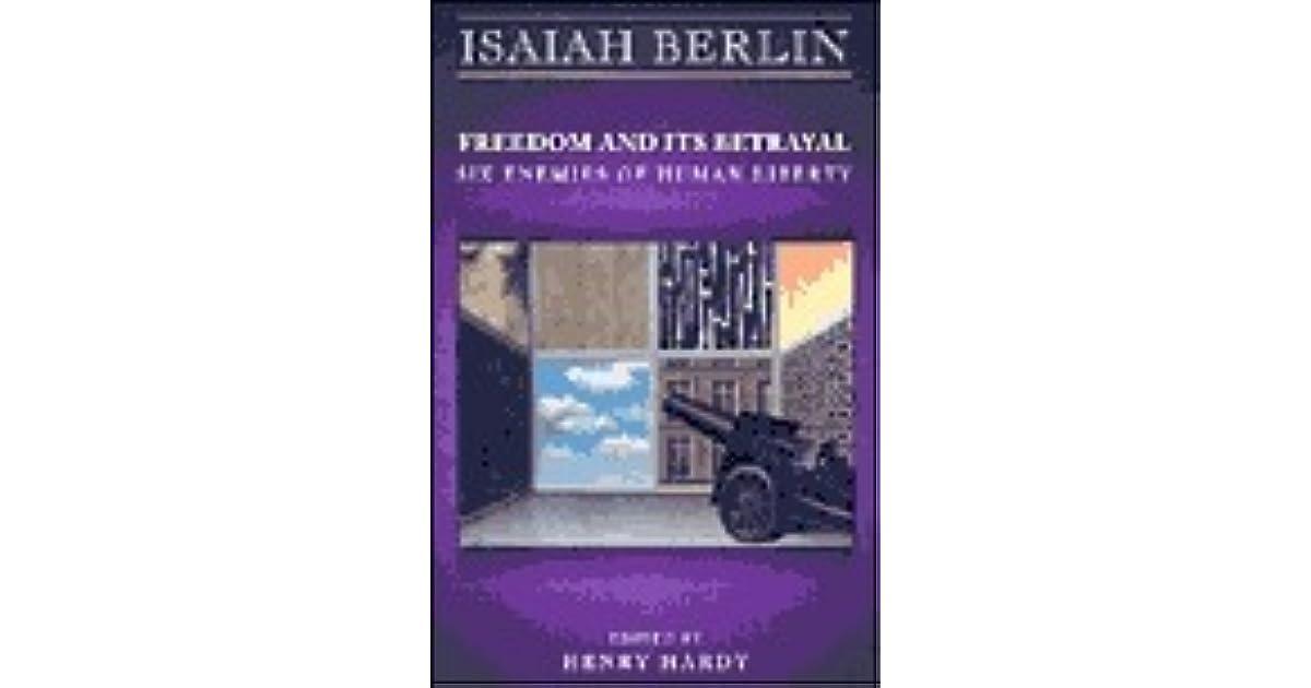 isaiah berlin four essays on liberty summary