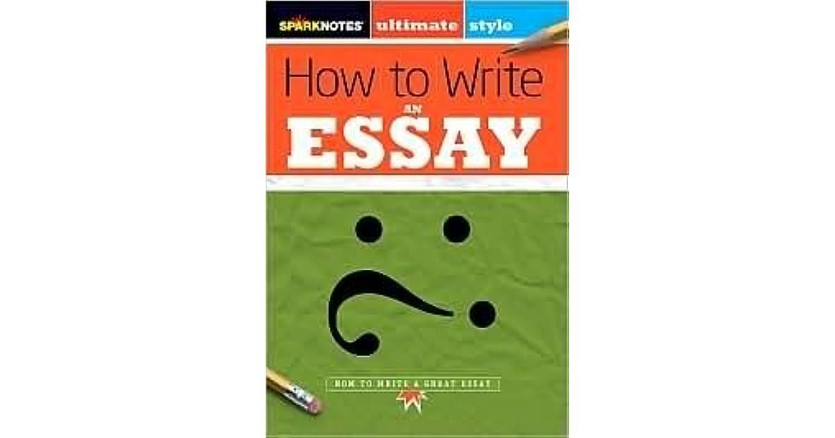 spark notes essay